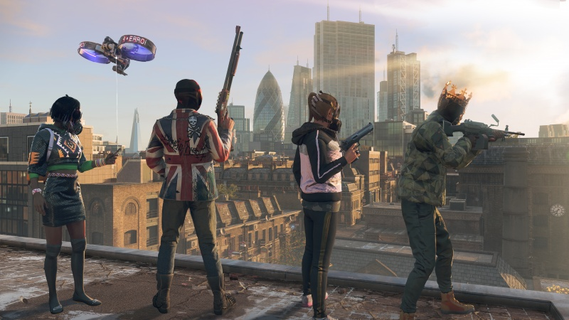 Play As Any Character In Watch Dogs Legion And When They Die They Re Gone For Good Mcv Develop