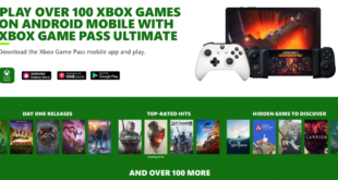 Cloud gaming on xbox game pass