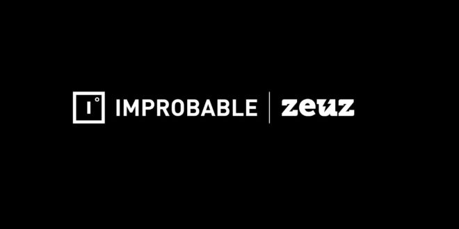 Improbable and Zeuz logos side by side
