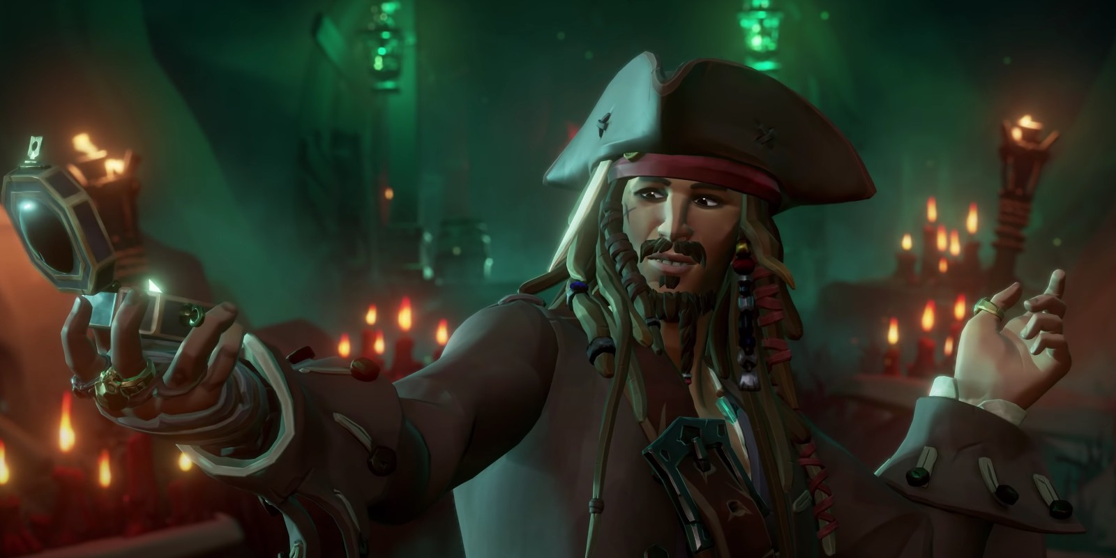 Jack Sparrow is coming to Sea of Thieves in Pirates of the Caribbean crossover