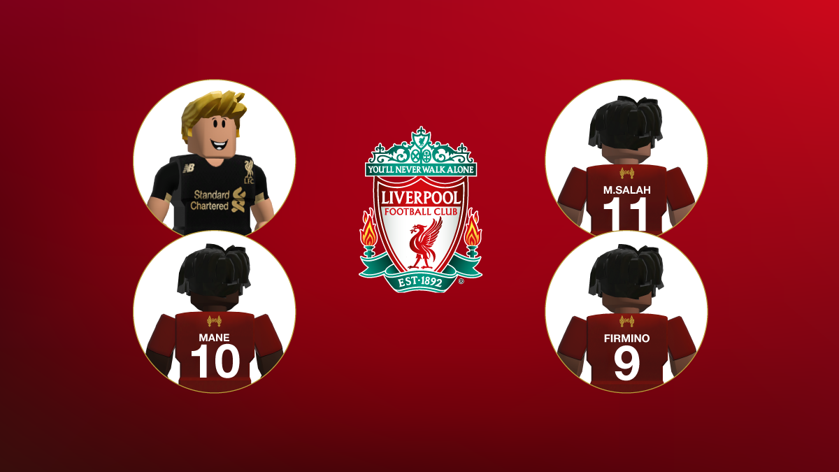 Liverpool Osc Roblox Roblox Roblox Partners With Liverpool Fc For Limited Time Free In Game Items And Outfits Mcv Develop