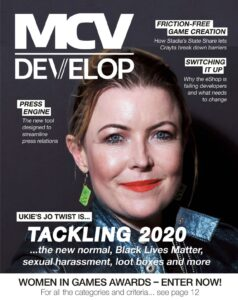 MCV August Cover Jo Twist