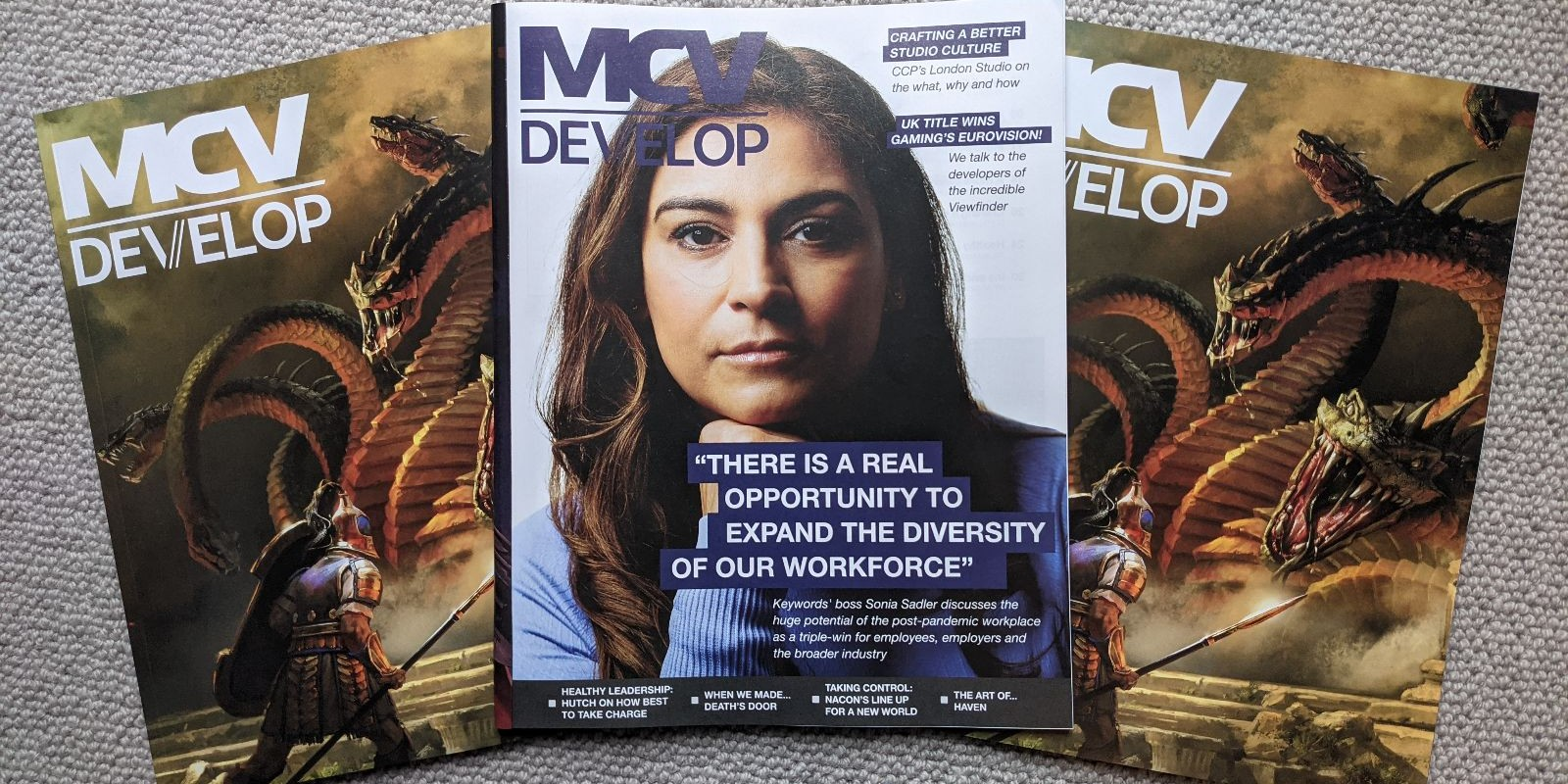 Read the September of MCV/DEVELOP online now! Featuring Keywords Studios, CCP Games, Hutch and more!