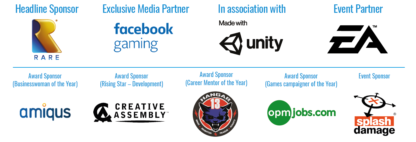 women in games awards 2020 sponsors