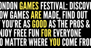 London Games Festival - Games are good for you graphic