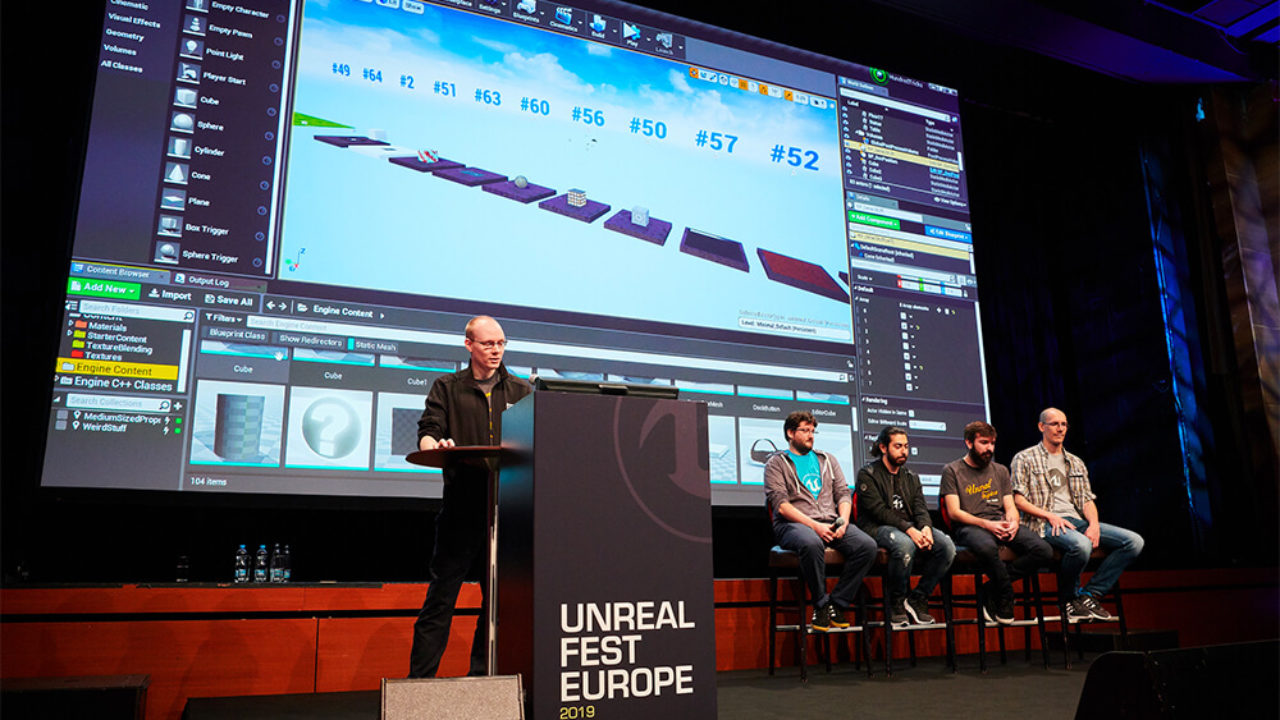 Unreal Fest Europe 2019 presentations are now freely