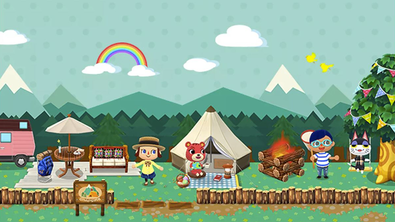 animal crossing pocket camp level up tent