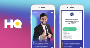 HQ Trivia splash screen