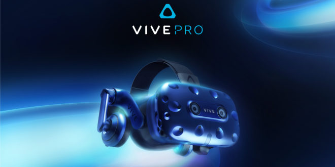 HTC announces new Vive Pro headset and 'VR-first' Viveport