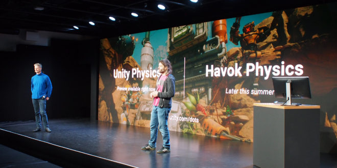 Unity and Havok partner on two-part 'complete physics solution' – MCV