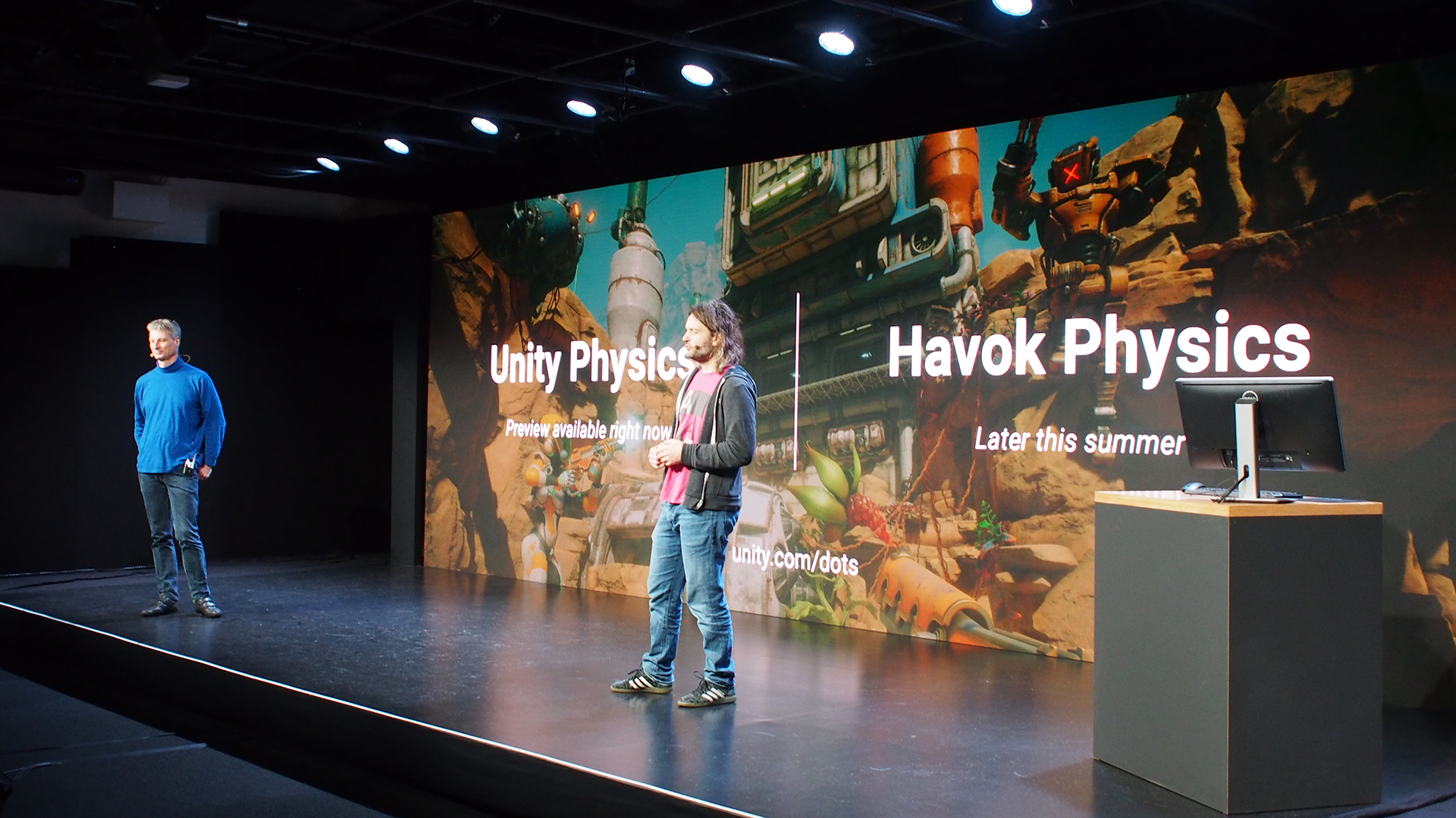 Unity and Havok partner on two-part 'complete physics