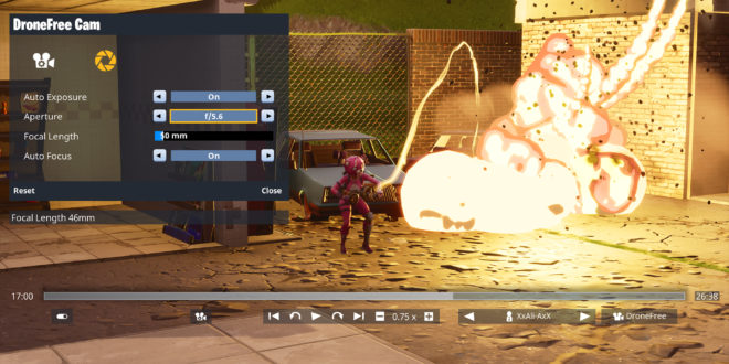 Epic and Ali-A demo Fortnite replay tool at GDC Unreal