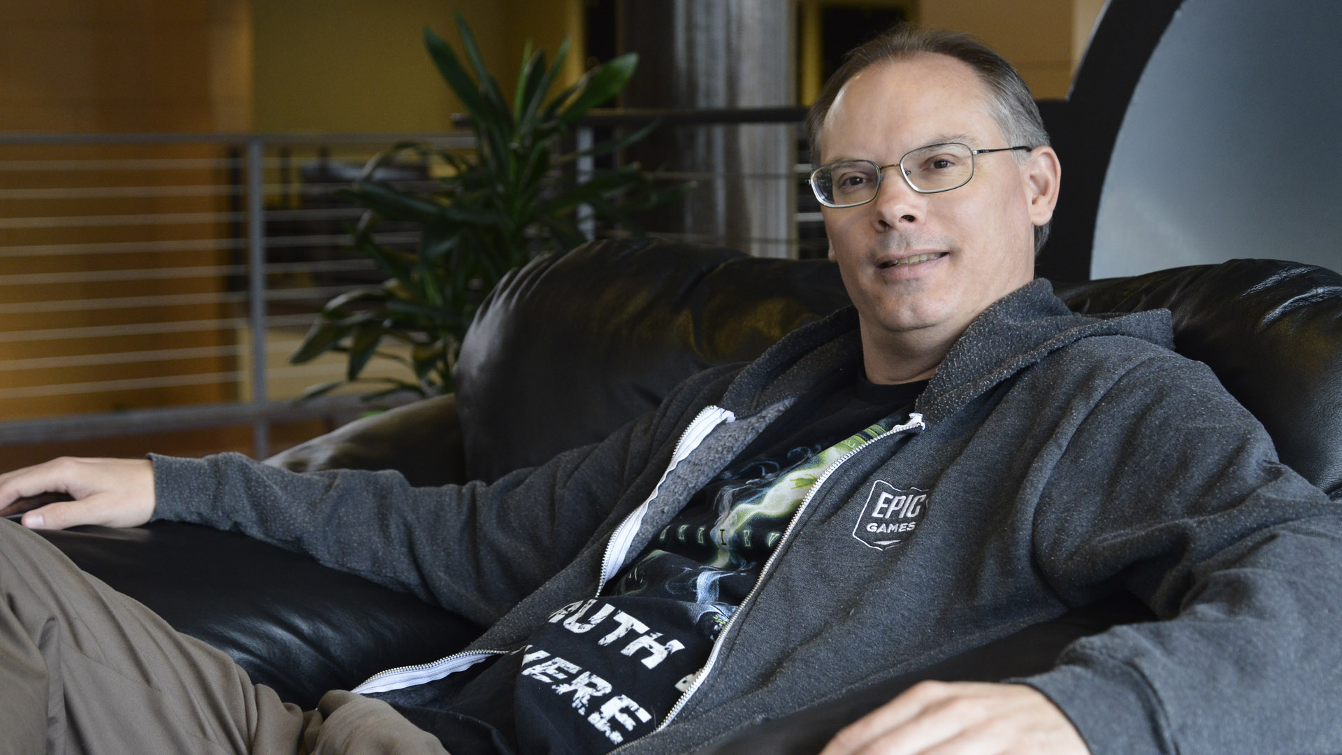 Epic Games Tim Sweeney On Fortnite The Company S Very Own Victory Royale Mcv Develop